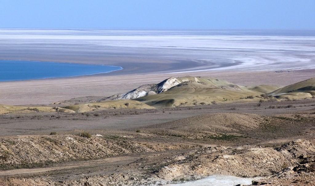 Die Überbleibsel des Aralsees