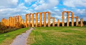 """Das """"Aquädukt der Wunder"""" in Merida"""