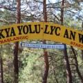 Bei Fethiye beginnt der wohl schönste Wanderweg der Türkei, der Lykische Weg.