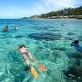 Vor der Küste von Viti Levu, Fijis Hauptinsel, kann man ideal schnorcheln, so wie hier an der Coral Coast.