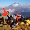 Der Vulkan Rinjani auf Lombok