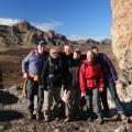 Teneriffa: Wandergruppe im Teide-Nationalpark