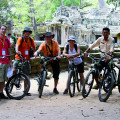 Auf guten Mountainbikes Angkor aktiv entdecken!