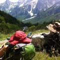 Einsame Berglandschaften genießen