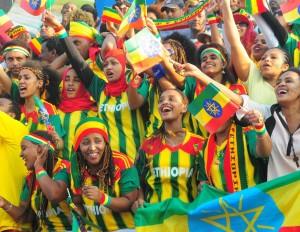 Die Äthiopier sind  die Weltmeister der Begeisterung!