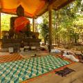 Mit dem Fahrrad durch die Tempelanlage Angkor