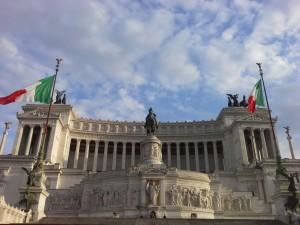 Ein Lauf in Rom ist  wie ein Lauf in einem Freilichtmuseum.