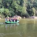 Rafting auf dem Kelani River war doch spektakulärer als es auf diesem Foto scheint...