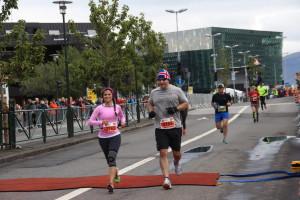 Die Lauftemperaturen liegen im August bei läuferfreundlichen 15 °C.