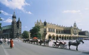 Ein Hauch österreichischen Flairs in Krakau