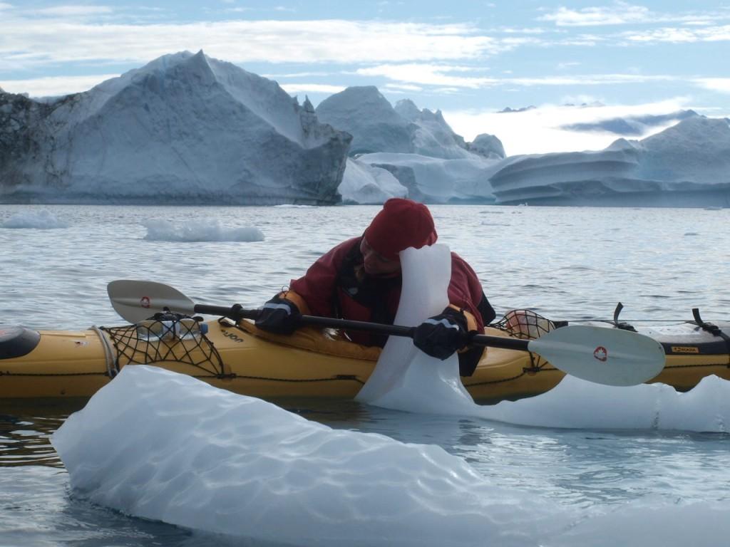 Mit dem Eisberg auf Du und Du