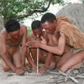 Zu Besuch bei den San Bushman in Botswana