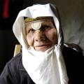 Eine Bewohnerin von Dorf Lukomir
