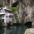 Blagaj mit Karstquelle und Derwisch-Kloster