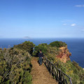 Abstieg vom Monte Fossa mit wunderbaren Weitblicken.