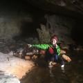 Mit dem Kajak in die einzige geothermale Höhle auf Vulcano, die man ohne Tauchen erreichen kann.