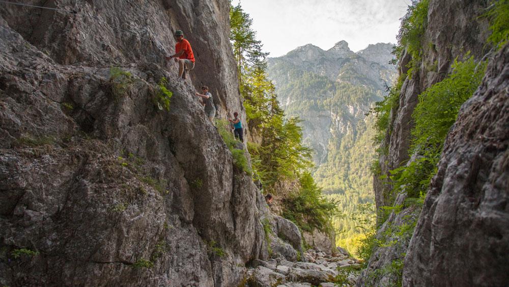 Klettersteig Soca Quelle : Slowenien u2013 klettern schulz aktiv reiseblog