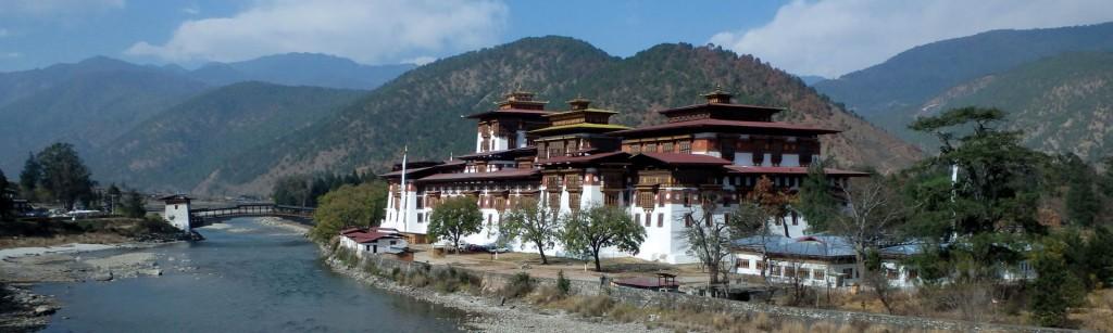 Punakha-Dzong-Tempel: Ziel des Bhutan International Marathon