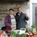 Besuch des alten Bahnhofsmarktes -  Gartendüfte wie aus alten Zeiten!