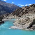 Der Indus ist die Lebensader Ladakhs