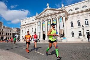 Stets charmant: Die prächtige Kulisse, die Lissabon den Läufern bietet