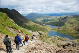 Wandern im Snowdonia-Nationalpark