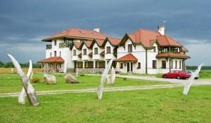Unser schönes Hotel in Pisz - hier logieren wir während der Radtour