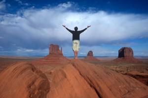 Bei den Navajo-Indianern im Monument Valley