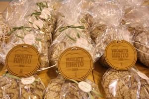 """Beim """"Vuokatti Hiihto"""" erhält jeder Teilnehmer eine wirklich besondere Medaille ... aus Holz!"""