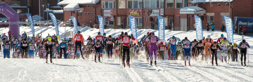 Start des Vuokatti Hiihto Euroloppet nur 4 Gehminuten vom Hotel entfernt!
