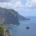 Die Steilküste Madeiras im Nordosten