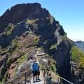 Unterwegs im Gebirge - viele Wanderwege wurden erst kürzlich erneuert.