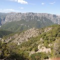 Herrlicher Ausblick auf das Supramonte-Massiv