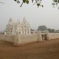 Eine typische Lehmmoschee im Norden Ghanas