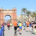 Spanien - Barcelona-Halbmarathon