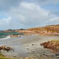 Idyllischer Strand auf Mull