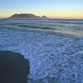 Kapstadts Tafelberg in der Abendstimmung