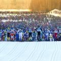 Über 16.000 Skilangläufer sind beim Vasalauf am Start.
