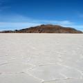 Salar de Uyuni - Insel Incahuasi mitten im Salzsee
