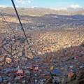 Per Seilbahn ins Zentrum von La Paz