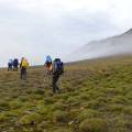 7-tägiges Trekking durch die Tundra Spitzbergens © Dominik Diesler