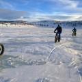 Mit den Fatbikes lassen sich hervorragend Wintertouren angehen