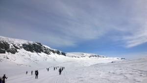 Skarverennet: ein Lauf für die Sinne über das Hallingskarvet-Plateau
