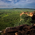 Blick vom Atakora-Plateau (Benin)