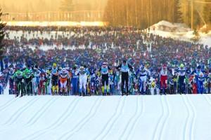 Jahr für Jahr am ersten Sonntag im März starten die 15.800 Teilnehmer über die legendären 90 km.