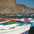 La Gomera: idyllischer Hafen im Valle Gran Rey