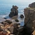 Spektakuläre Steilküste an der Adria