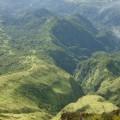 Tropische Wälder soweit das Auge reicht