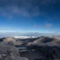 Blick auf die beeindruckenden Gletscher des Kilimanjaro vom Uhuru Peak (© Maik Kämmerer)