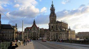 Dresden - Blick auf die Hofkirche